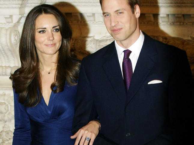HRH Prince William and Kate Middleton Engagement