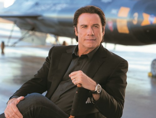 breitling advertising campaign 2015 - john travolta - behind the scene1200