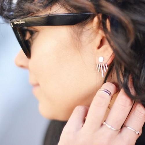 Francuzeczka joannabiawo w kolczykach Apart z kolekcji INDALI frenchchic earringshellip