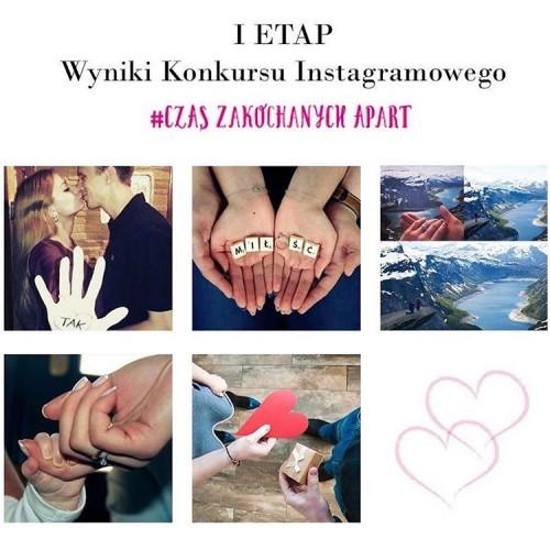 Pierwszy etap Instagramowego Konkursu Walentynkowego ju za nami Bony Aparthellip