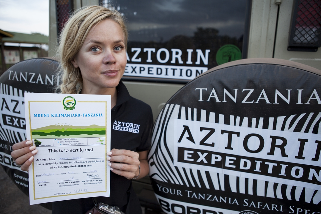 900Aztorin Kilimanjaro Expedition 2015
