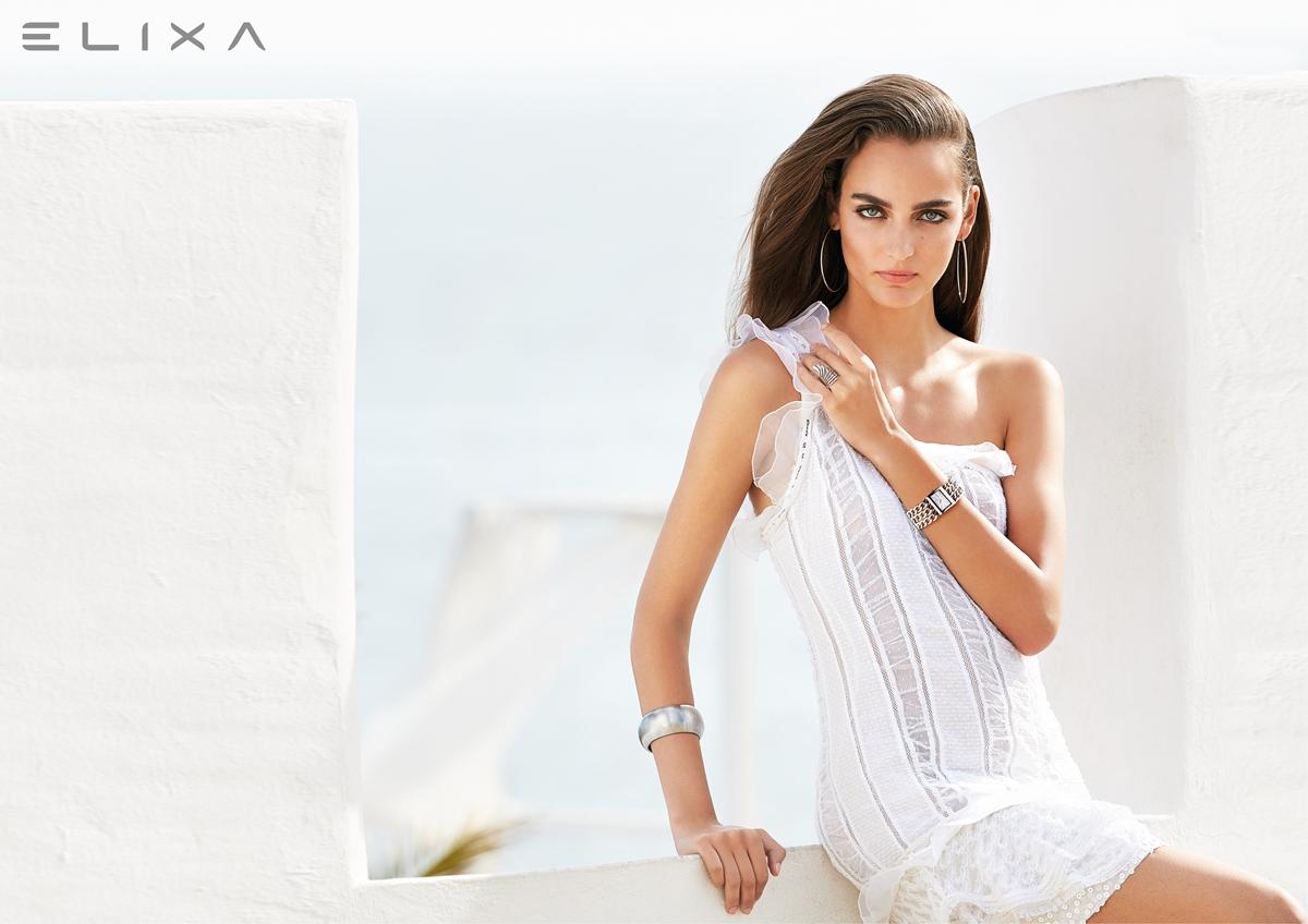 Wizerunek modelka Elixa Beauty E091-L345 + EL125-0602 + EL121-2843 + EL121-2836